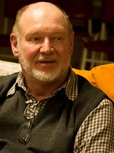 Kvällens föreläsare, Thomas Johnsson, Hässleholm.